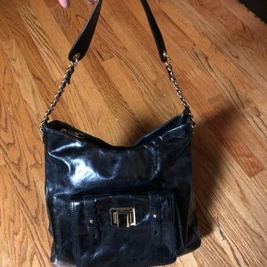 ❤️sale❤️Badgley Mischka leather shoulder bag